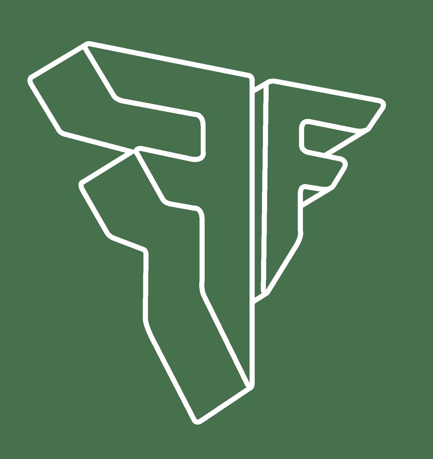 Fascial Full logo fat bianco