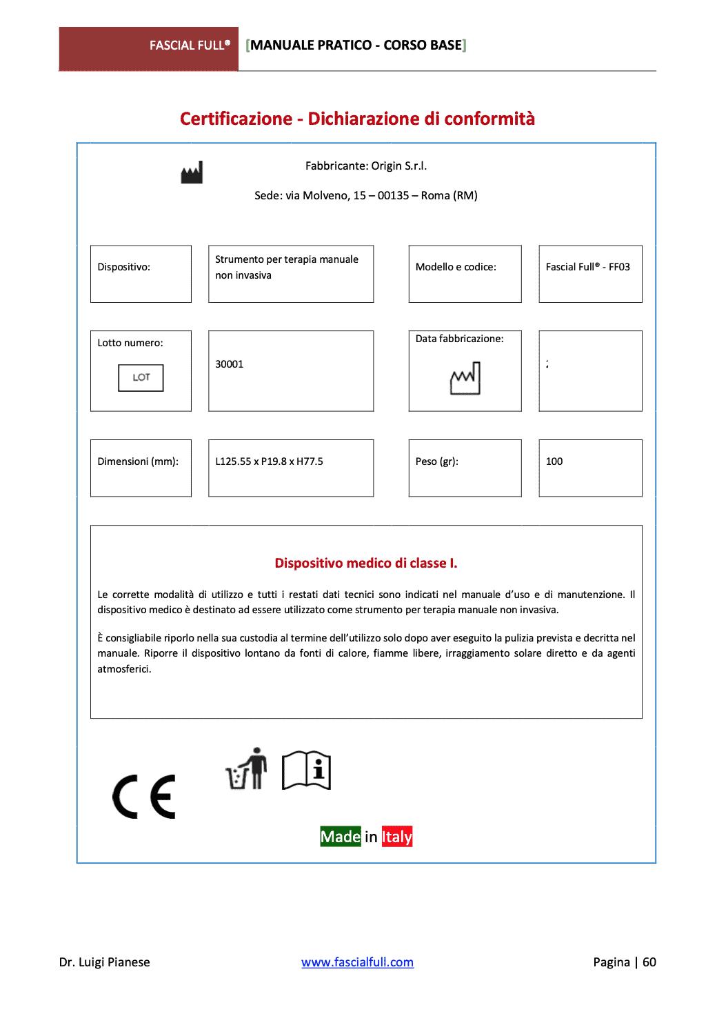 Fascial Full Certificazione Medicale 01 beta